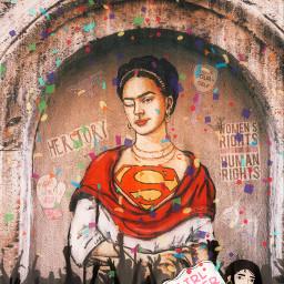 remixed fridakahlo womensrights womensmonth2021 freetoedit
