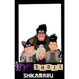 shikamarunara chojiakimichi inosuke ino shikamaru choji freetoedit