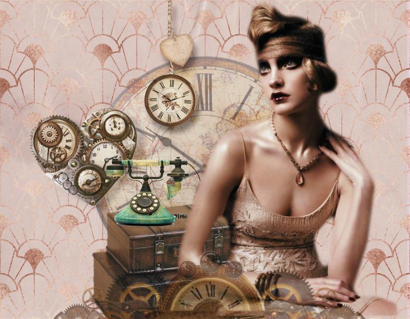 #deco #vintage #antique #flapper