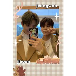treasure parkjeongwoo parkjihoon kpopidol ygtreasurebox ygfamily treasuremaker brown freetoedit