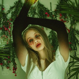 photography nature girl remixit freetoedit remix sureal surreal surrealisticworld surealism fire