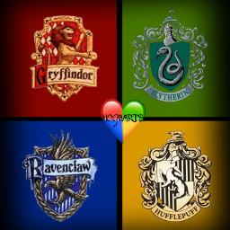 hogwarts dumbledore slytherin hufflepuff ravenclaw gryffindor freetoedit