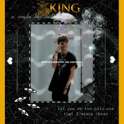 foryou king yellow black freetoedit