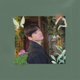 chaeunwoo eunwoo truebeauty cottagecore green aesthetic greenaesthetic plant kdrama astro freetoedit