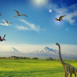 dinosaurs imagination hovyan freetoedit