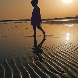 sea sunset mypic freetoedit pcwhathappinessfeelslike whathappinessfeelslike