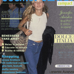 cosmopolitan katemoss 90s model magazinecover fashion style freetoedit