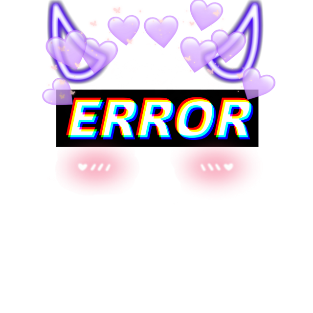 #eyecover #demon #devil #purple #aesthetic #error #blush #heartcrown #purplehearts #sparkles #heart #crown #devilhorns #devilcore #purpledevil #purpledemon #UwU #cute #spooky #spookyaesthetic #purpleaesthetic #cuteaesthetic #pink #pinkblush #eyes