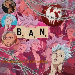 sds sevendeadlysins ban anime edit freetoedit