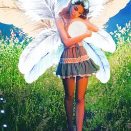 feathers white fairy woman girl srcwhitefeathers freetoedit