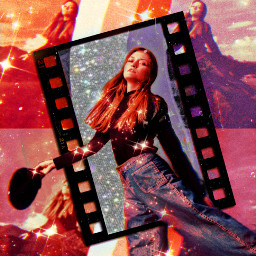 freetoedit squiggle movies madewithpicsart woman
