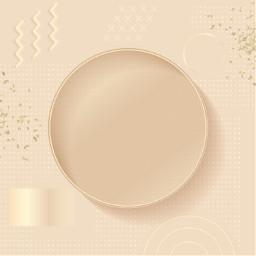 rosegold frame template circleframe andreamadison freetoedit