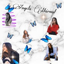 angelamarmol butterfly marmol💞 freetoedit marmol