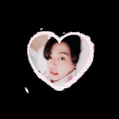 koo jungkook heart army bts btsjungkook kookie jungkookie cute jk jeonjungkook cuteheart love freetoedit