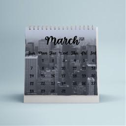 marchcalendar march marchmonth month freetoedit ircdesignthecalendar designthecalendar