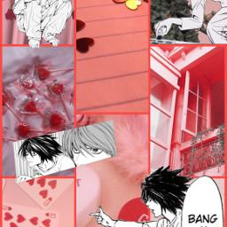 l llawliet deathnote llawlietdeathnote deathnotellawliet anime animeboy animewallpaper deathnotewallpaper freetoedit