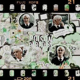 dracomalfoy harrypotter green complexedit greencomplex freetoedit