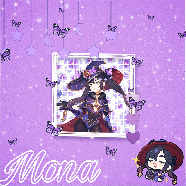 more mona because i like mona  #mona #monagenshin #monagenshinimpact #genshinimpact #genshin #genshinimpactmonaedits #genshinimpactmona #broken #purple