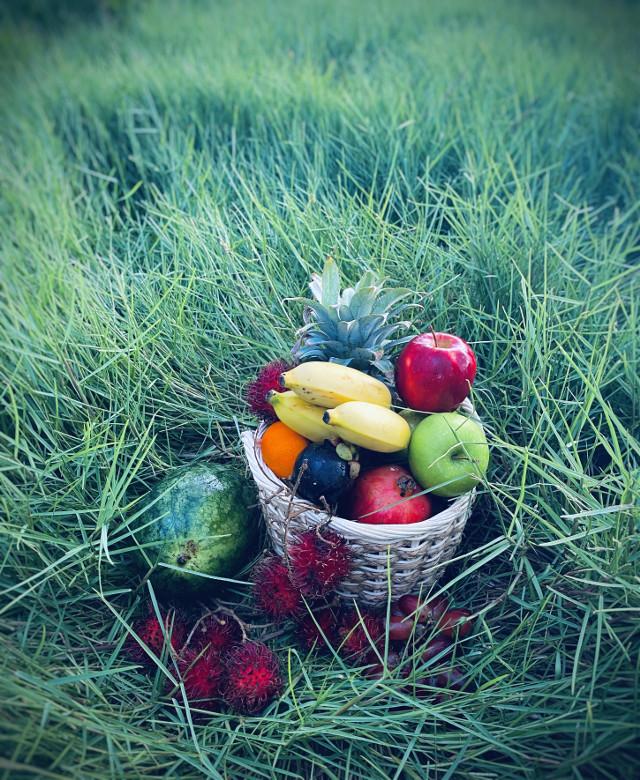#fruit #fruitbasket #favoritefruitsandveggies