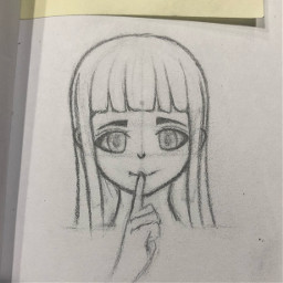 hinata animedrawing drawing anime
