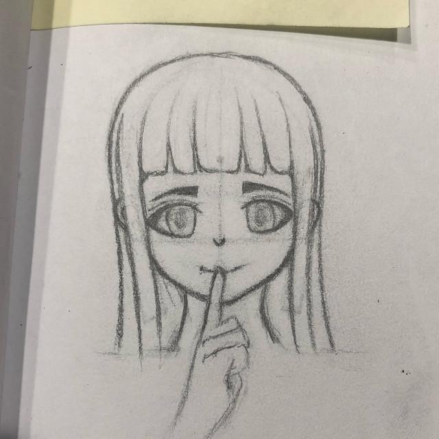 Ended up looking like Hinata lolz   #hinata #animedrawing #drawing #anime