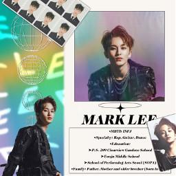 nct mark kpop marklee freetoedit