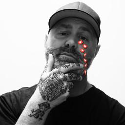 heart like henna tattoo vibe beard me selfie people myedit
