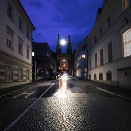 freetoedit city night evening lights pcwalls