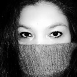 freetoedit blackandwhite monochrome portrait artisticselfie halfface justme