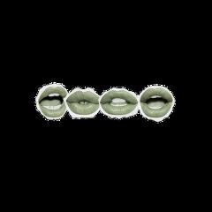 lippremades lip vintage aesthetic newspaper green greenlips lipstick greenaesthetic spring makeup - freetoedit