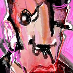 sonnythesaint sonnyleel abstractart tribute art artist abstract neoexpressionism digitalpainting painting modernart