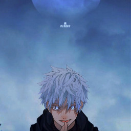 gojo satoru gojosatoru satorugojo gojosensei jujutsukaisen jjk japan anime animeboy