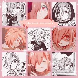 mitsuba tbhk collage pink  so pink