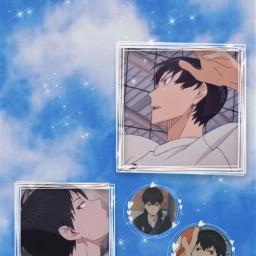freetoedit kageyama kageyamatobio haikyuuwallpaper animeaesthetic animewallpaper