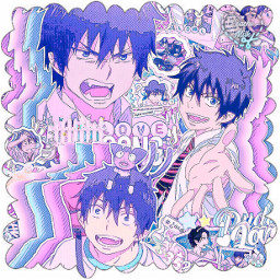 asthetic astheticallypleasing astheticedit animeedit anime icon iconedit sparkle sparkleedit animeboy rinokumura rinokumuraedit blueexorcist blueexorcistanime blueexorcistedit complexedit complexanimeedit