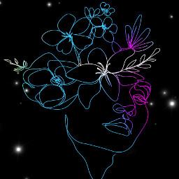drawing lightmask brushes neon blackbackground freetoedit