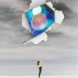 art neworld world universe galaxy interesting newedit edit girl unknown myedit picsart freetoedit