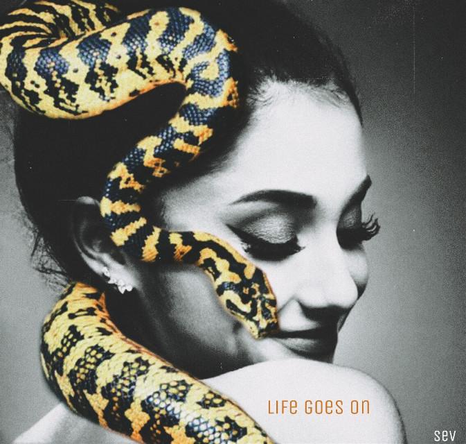 #freetoedit #blackandwhite #portrait #artistic #snake #filmeffect3 #text #madewithpicsart #myedit