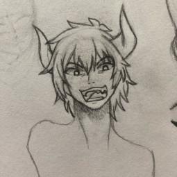 hownottosummonademonlord diablo demonlorddiablo demonlord drawing anime