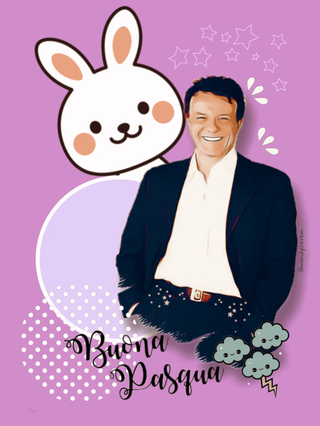 #massimoranieri #eastertime #buonapasqua #fanart #bunny #cutie