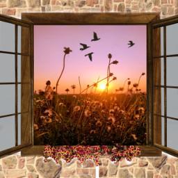 ventana window windows paisaje paisajes paisajesbellos paisajesnaturales paisajeshermosos freetoedit ircwhatsinthebox whatsinthebox