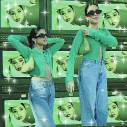 paolabarro mexico mexicana paola replay green greenaesthetic 90s 90svibes picsart replayaesthetic y2k yk2 freetoedit