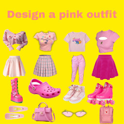pinkoutfit freetoedit