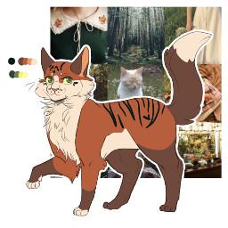 notmylineart cat cottagecore customtrade moodboard