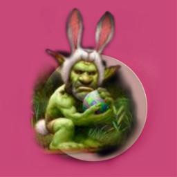 freetoedit bunnyface bunnyman eastereggchallenge pinks ircdesigntheeasteregg