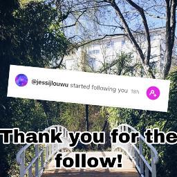 follow thankyou freetoedit