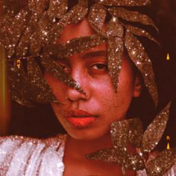 freetoedit madewithpicsart beautifulgirl glitter picsart