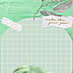 peppermint mint mintaesthetic mintgreenaesthetic yummy macaroons rcmintgreenaesthetic freetoedit