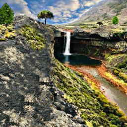 laguna arroyo arroyos montana cascada cascade cascadas campo campos camposverdes freetoedit