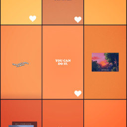 orange aesthetic orangeasthetic freetoedit